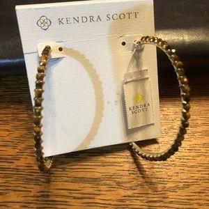 Kendra Scott Birdie Gold Hoop Earrings